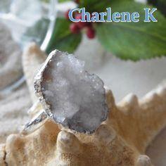 Charlene Kリトルクリスタルリング http://item.rakuten.co.jp/bon-eto/b9-charlenek-rgd-m-1/