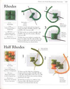 "Photo from album ""Stitch Sampler"" on Yandex. Basic Embroidery Stitches, Sewing Stitches, Embroidery Techniques, Cross Stitch Embroidery, Embroidery Patterns, Cross Stitch Patterns, Plastic Canvas Stitches, Plastic Canvas Crafts, Plastic Canvas Patterns"