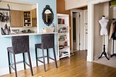 Small Space Lessons: Floorplan & Solutions From Kathryn's Lucky Location