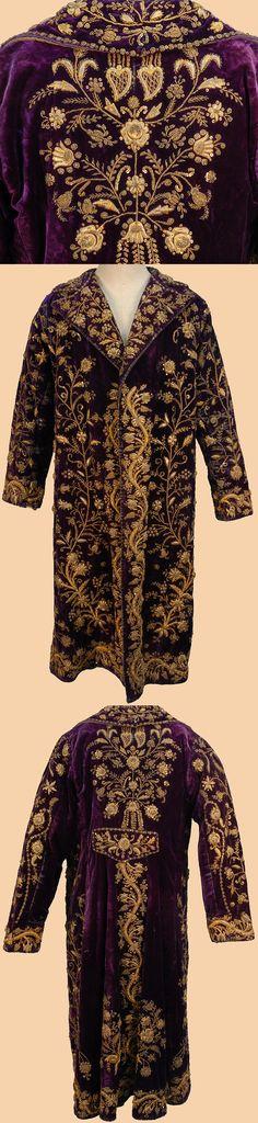 Antique Turkish Textile. A Woman's Kaftan worn at Court.Circa 1840