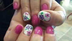 Spring nails art by Hawaiinailsfamily.com
