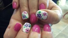 Spring nails art by Hawaiinailsfamily.com