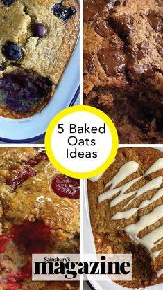 Baked Oatmeal Cups, Baked Oats, Pineapple Sheet Cake Recipe, Sweet Breakfast, Breakfast Ideas, Protein Bites, Tasty, Yummy Food, Healthy Alternatives