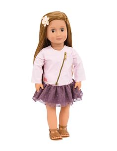 "18/"" Springfield Doll  Emma  Brown Hair Brown Eyes  NIB"