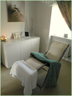 reflexology treatment room ideas - Google Search