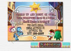 Sheriff Callie invitación imprimible por TheWonderlandCottage