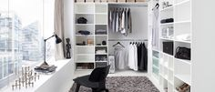 Walk-in-closet | Täydellinen kuva vaatekaapin sisällöstä