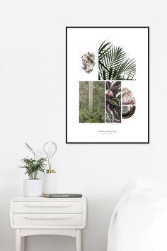 Mood Composition by Christina Christensen - INCADO. #interior #artprint #photography #wallart #decor #home #artprints #designstudio #picture #whitehome #white #minimalistic #nature #collage #mixedmedia #design