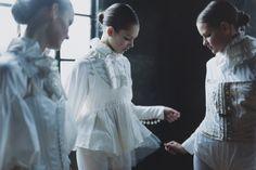 Pure White Mode Style   Photography by Osamu Yokonami