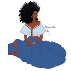 Bohémienne #blackwomanart #nichollekobi