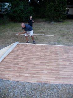 Plywood dance floor on grass temporary modular portable for Outdoor dance floor ideas