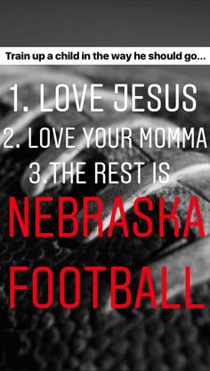 Ready for a Frosty season! Nebraska Cornhuskers Football, Nebraska Football, Football 24, Train Up A Child, Random Quotes, Door Signs, Letter Board, Frost, Pride