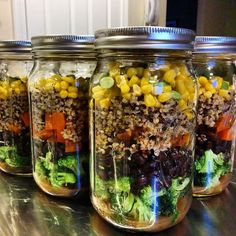Pin for Later: 21 #MealPrep Ideas That Are Anything but Boring Broccoli and Quinoa Salad There's so much you can do with a fun quinoa salad.