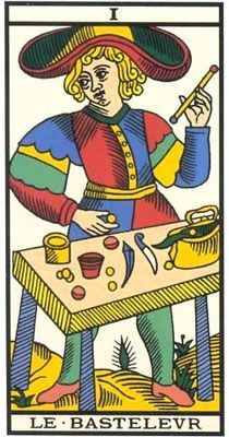 O Mago no Tarot de Marseille - Grimaud Le Bateleur, Tarot Significado, Major Arcana Cards, Free Tarot Reading, Daily Tarot, Radios, Tarot Decks, The Magicians, Playing Cards