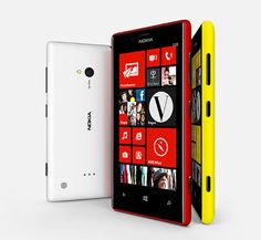 Nokia Lumia 520 and Lumia 720 announced.
