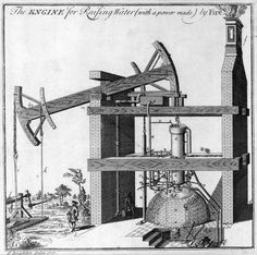 Thomas Newcomen's 1712 atmospheric engine. The first fully practical, commercially successful steam engine and genesis for the industrial revolution.