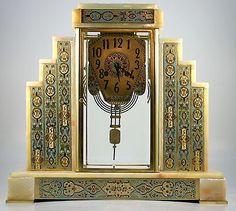 Art Deco Table Clock   Antiques, Decorative Arts, Clocks   eBay!