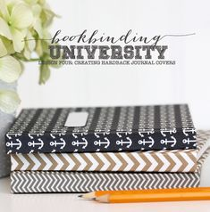 Bookbinding University: How to Make a Hardcover   Damask Love Blog