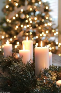 holiday aesthetic A Peek at our Homes All Decked out for the Holiday Season Holiday Places, Holiday Destinations, Diy Candles Easy, Best Places To Vacation, Diy Playbook, All Things Christmas, Christmas Time, Christmas Ideas, Merry Christmas
