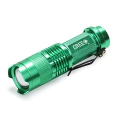 Led Lighting Uniquefire Led Flashlight Wf-501b-xpe Zoom 3 Light Modes Ip67 Waterpoof Material Lamp Torch+qq07 Scope Mount