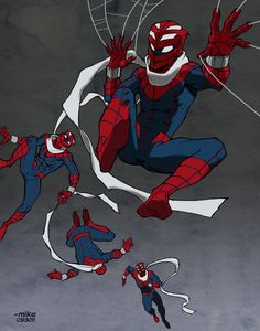 ProjectRooftop- Spidey by MikeDimayuga on DeviantArt