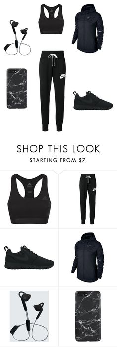 """Workout"" by tomboy92 ❤ liked on Polyvore featuring adidas, NIKE and Urbanista"