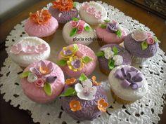 cupcakes primaverales