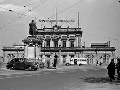Ferrocarril Mexicano, Buenavista, ca. 1945.