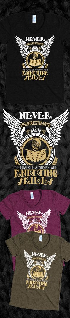 Knitting Power - Limited Edition. Grab yours or gift it to a friend. You will both love it