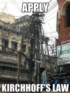 Now apply kirchhoff's law!!