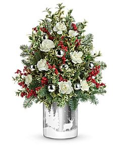 Christmas Flowers Delivery Louisa KY - Farmhouse Memories Christmas Flower Arrangements, Christmas Flowers, Christmas Wreaths, Christmas Decorations, Christmas Tree, Holiday Decor, Fast Flowers, Flowers Today, Enchanted Florist