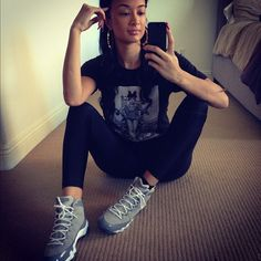 Sexiest celebrities who wear Air Jordan sneakers - Page 7 of 9 - Rolling Out Athletic Outfits, Sport Outfits, Winter Outfits, Summer Outfits, Casual Outfits, Cute Outfits, Gym Outfits, New York Fashion, Teen Fashion