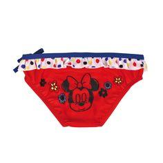 Culetín o bañador de Minnie para bebés. En www.tinoytina.com