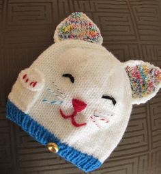 Fortune Cat Hat, via Etsy.