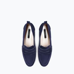 Image 2 of LEATHER MOCCASIN from Zara