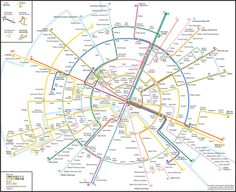 concentric circles map of Paris métro by Max Roberts Metro Subway, Subway Map, Nyc Subway, Paris Map, Paris France, London Underground Tube Map, Psychologie Cognitive, Plan Ville, Transport Map