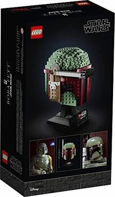 LEGO Star Wars Boba Fett Helmet Lego Boba Fett, Boba Fett Helmet, Star Wars Boba Fett, Shop Lego, Buy Lego, Star Wars Lego, Lego Clones, Star Wars Personajes, Lego Builder