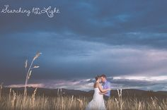 Just after the sun has set. shupe homestead wedding photo by denver wedding photographer stormy romantic wedding photo