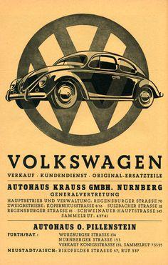 Reprint of a 1930s VW Poster by csfotobiz on Etsy