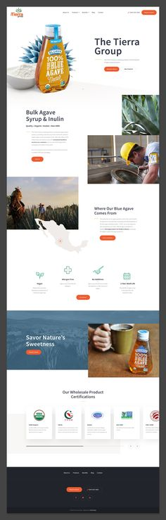 Agave Website design. #webdesign #design #ui #website #interface #ux #interaction #development #marketing #uxdesign #uidesign #landingpage #behance #dribbble #art Agaves, Web Design, Design Inspiration, Behance, Marketing, Image, Art, Earth, Art Background