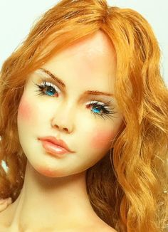 Sculpting Female Face Tutorial for Fairy Fairies by DollEssence, $49.90