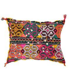 Bohemian Moroccan Kilim Pillow from Baba Souk