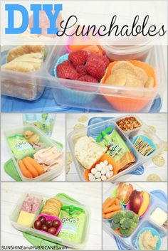 Ready to spice up your lunch packing routine? Are your kids tired of the same old peanut butter & jelly? These quick, simple lunch box ideas are perfect for kids to make themselves and provide a healthier alternative to store bought Lunchables. See how easy and stress free packing lunch can be! DIY Lunchables