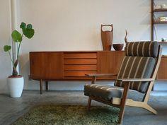 ハンスJウェグナー GE290 ハイバックチェア Lounge Chair, Furniture, Living Room, Chair, Home, Interior, Vintage Furniture, Home Decor, Room