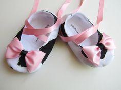 Moo Cow Soft Ballerina Slippers