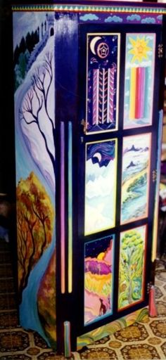 Laura McMillan painted furniture