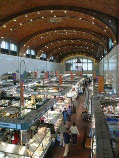Didn't get here often enough  Westside Market, Cleveland, Ohio.. Amazing International Market .. downtown Cleveland ... ;o)