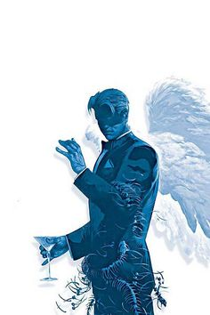Lucifer From Lucifer graphic novel series Comic Book Characters, Comic Character, Hellblazer Comic, Laveyan Satanism, Vertigo Comics, World Of Darkness, Famous Monsters, Horror Comics, Morning Star