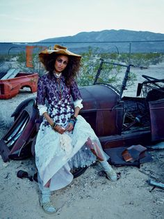 Malaika Firth in Honor photographed by Emma Summerton for Vogue Japan, July 2014.