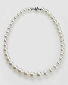 Collar mujer perlas cultivadas australianas El Corte Inglés Pearl Jewelry, Pearl Necklace, Pearls, Jewelry Ideas, Jewellery, Products, Fashion, Diy Kid Jewelry, String Of Pearls